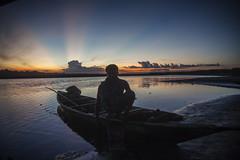 Boatman at sunset 6362 (shahidul001) Tags: boat river boatman fishing water sunset