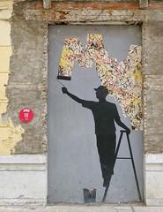 - (txmx 2) Tags: pejac malaga spain espana graffiti streetart maus soho