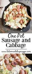 One Pot Sausage and (alaridesign) Tags: one pot sausage cabbage