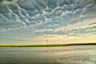 Mammatus storm July 12 incoming