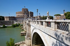 Ponte Sant'Angelo (Michael Tracy's photos) Tags: rome vatican