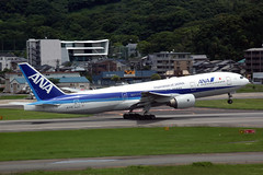 All Nippon Airways JA717A (Howard_Pulling) Tags: fukuoka airport fuk fukairport japan japanese howardpulling