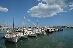 Cambrils 3 (Eloy Rodríguez (+ 5.400.000 views)) Tags: cambrils salou costadorada costadourada barcos velas mar sea agua turismo verano cataluña españa pesca barcodevela sol eloyrodriguez potd:country=es