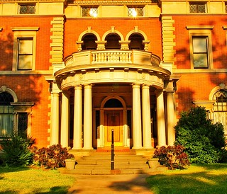 Binghamton New York ~ Robertson Museum and Science Centre ~ Historic Mansion