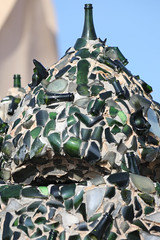 La Pedrera chimneys (Peter J Brent) Tags: casamilà lapedrera barcelona spain