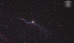 Western Veil Nebula - aka The Witch's Broom (Dark Arts Astrophotography) Tags: veil nebula c34 caldwell34 witchs broom astrophotography astronomy space stars deepsky sky night dark nature natur nightsky kingston kingstonist ontario