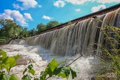 Watson Mill Bridge Water Fall (K.Yemenjian Photography) Tags: waterdrops water waterfall comerga comercounty