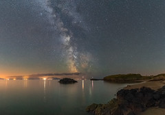 'Porth Y Clochydd' - Llanddwyn Island, Anglesey (Kristofer Williams) Tags: night sky stars nightscape landscape astro astrophotography milkyway bay beach llanddwynisland anglesey newborough llanddwyn porthyclochydd coast sea seascape