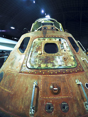 USAF Museum 04-18-2017 - North American Rockwell Apollo 16 Command Module Endeavor 2 (David441491) Tags: nationalmuseumoftheusairforce apollo15 commandmodule endeavor rocket