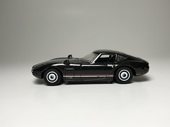 Toyota 2000 GT (king_joe007) Tags: hotwheels toyota 164 diecast 2000 gt wheelswap disc wheels matchbox
