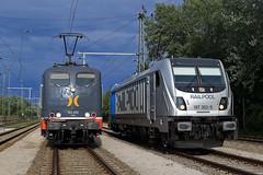 187 302 + 151 070 (René Große) Tags: eisenbahn train railways lok lokomotive elok 187 151 hectorrail railpool manching bayern deutschland germany
