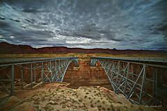 NavahoBridge (svubetcha) Tags: landscape flowers arizona sunset bridge hourse mission gas utah