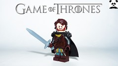 3 - Robb Stark (Random_Panda) Tags: lego figs fig figures figure minifigs minifig minifigures minifigure purist purists character characters film films movie movies television tv game of thrones season 1 7 white walker eddard ned stark premiere jon snow tyrion lannister cersie jaime arya sansa george r martin winterfell the north wall kings landing baratheon tyrell arryn sam samwell tarly nightwatch king wildlings kit harrington robb richard madden theon greyjoy