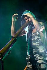 Xavier On The Didge (peterkelly) Tags: digital hillside hillsidefestival 2017 guelph ontario canada northamerica guelphlakeconservationarea festival music concert xavierrudd didgeridoo player playing hood overalls