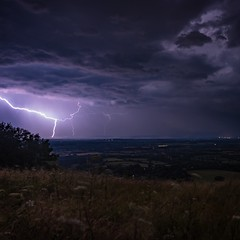 Fork (Gary Sanders Photography) Tags: lightning storm stormyskies ditchingbeacon clouds heavens
