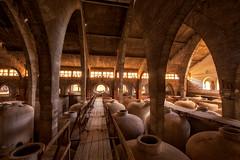 Bodega Es Sindicat, Spain (fotobagaluten.de) Tags: bodega essindicat weinkellerei weinfässer barrels wein wine spanien spain museum