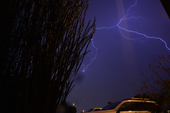 DSC_7587 (georgerocheleau) Tags: mesa arizona storm clouds rain lightning therebeastormabrewin