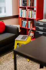 180/ 365 Temporary desk (bady_qb) Tags: 50mm a7ii canon sonyalpha sonya7ii 365 mac setup design stool
