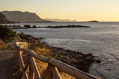Tinte estive - Barcarello (Life in a glasshouse) Tags: barcarello palermo estate mediterraneo scogli tramonti sole sunset sun summer beach