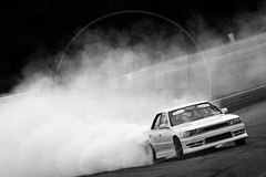 Hayden Cruikshank - Toyota Cresta (MPH94) Tags: tunerfest north oulton park cheshire west time attack msa tuner championship motor car cars auto sport motorsport race racing motorracing modify modifying black white monochrome drift drifting hayden cruikshank toyota cresta