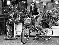 Wheels (canonsnapper) Tags: candid olympus omd em5 tel aviv bicycle street photography bike olympusolympus e5