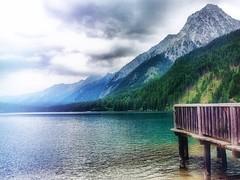 Passeggiando...il lago. (franco.56) Tags: landscape franco olympus quiet clouds lago