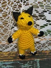 tiny fox (jujushka) Tags: crochet crocheted handmade hand made fox