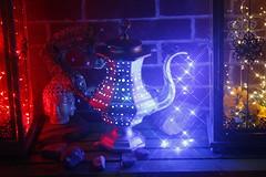 DIY Boho Chic Decor Lantern Pot (blackunigryphon) Tags: boho bohochic bohodecor decor bohemian lantern lanterns pot ledlights balconydecor balcony whimsy whimsical ambient diy project artproject gypset gypsetter bohostyle eclectic instillationart dslr canon kandicezimbleman artsandcrafts wirewrapping crystals newage hippie hippiechic candles