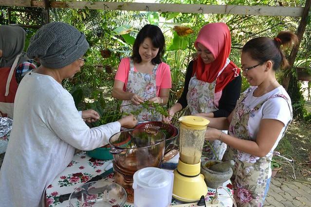マサク-マサクツアー(マレーシアの家庭料理体験) (料理教室のオプショナルツアー)