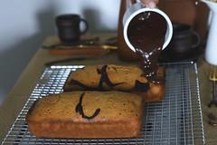 s'mores loaf (Lan   MoreStomachBlog) Tags: dessert chocolate baked loaf cake marshmallow homemade