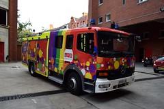 RF02 XJK (markkirk85) Tags: london mercedes benz atego fire brigade dpl1101 reserved pride livery rf02 xjk rf02xjk engine appliance lfb