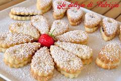 Frollini latte e miele con cioccolato (Le delizie di Patrizia) Tags: frollini latte e miele con cioccolato le delizie di patrizia ricette dolci pasticceria secca