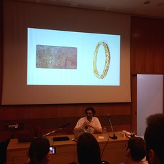 """Lectures @ Benaki Museum. Juan Riusech – Founder of Alliages Organization & Gallery : """"Back to the future, a jewel history""""."""