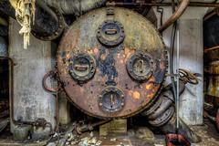 Usine de la Forêt-Noire (Batram) Tags: usine de la forêtnoire paper factory papierfabrik urbex urban exploration lost place hdr face rust