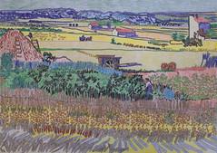 La moisson - Arles - Van Gogh - 1888_0 (Luc II) Tags: vangogh arles