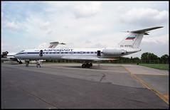 RA-65760 - Fairford (FFD) 24.07.1993 (Jakob_DK) Tags: 1993 ffd egva fairford fairfordairbase raffairford tupolev tupolev134 tupolev134a tu134 tu134a crusty gromov gromovflightresearchinstitute
