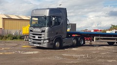 Not sure of owner but new Scania R series SL66 NAE (adamdavies8) Tags: scania rseries inverness truck haulage