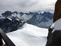 Alps Trip 1130m (mary2678) Tags: aiguille du midi chamonix europe honeymoon mont blanc mountain mountains sky cloud clouds snow rick steves myway way alpine tour french alps