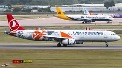 TC-JRO A321 TURKISH AL (John Mason 2017) Tags: a321 bhx egbb special tcjro thy wwwbhxspottercom euroleague turkish istanbul