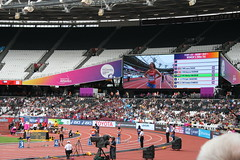 T44 Womens 200m Heat 1 - Starting line up (h_savill) Tags: london 2017 world para athletics championship stratford july stadium competition compete athelete atheletics disability spectator aport track field seat crowd olympic park t44 womens 200m heat