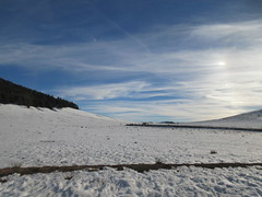 Snow fields and sky, Middle Atlas near Azrou, Morocco (Paul McClure DC) Tags: middleatlas morocco jan2017 almaghrib ifrane azrou mountains winter scenery snow northafrica