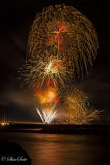 夏の夜を彩るPart1 (shin4433) Tags: nikon d500 花火 fireworks japan color sea long exposures