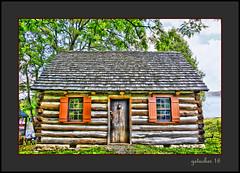 Log School at Bowers Farm (the Gallopping Geezer '5.0' million + views....) Tags: school schoolhouse log logschool museum park display historic old troy mi michigan metrodetroit canon 5d3 geezer 2016