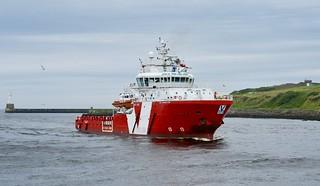 VOS Prospector - Aberdeen Harbour Scotland 23/7/17