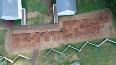 DJI_0013 (Montpelier Archaeology) Tags: indianadrone archaeology aerial fencelin fenceline southyard