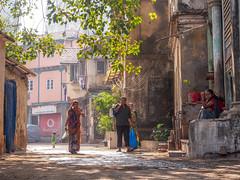 Mumbai 2015 (hunbille) Tags: birgittemumbai1lr india mumbai ghat steps walkeshwar temple complex walkeshwartemple malabarhill malabar hill bangangatank banganga tank lake gamesweep bombay