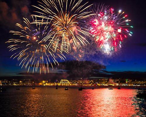 Feux d'artifice du 14 juillet, Brest 2016 (2)