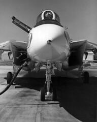 VF-1 F-14A Tomcat (skyhawkpc) Tags: navy naval usnavy usn aviation aircraft vf1wolfpack f14a tomcat nasmiramar 1973 grumman