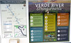 Verde River (twm1340) Tags: verde river valley access point map rap float floater kayak clarkdale az arizona cottonwood sign