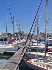 Hafen / Harbour (schreibtnix on 'n off) Tags: reisen travelling europa europe frankreich france bretagne brittany breizh paimpol meer sea küste coast hafen harbour segelboote sailingvessels masten masts olympuse5 schreibtnix